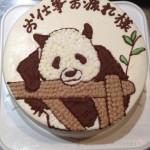 ペット似顔絵ケーキ
