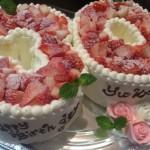 数字型バースデーケーキ