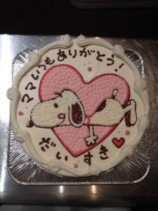 名古屋の母の日キャラクターケーキ