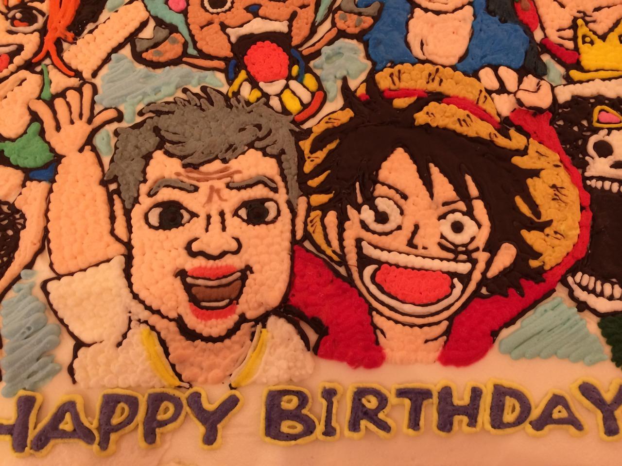 名古屋のパーティー用キャラクターケーキ