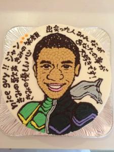 名古屋の似顔絵イラスト入りケーキ