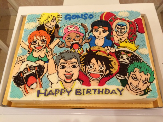 パーティー用キャラクターケーキ