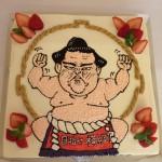 相撲の大関稀勢の里♪  メディアの方から朝稽古の後プレゼントされました。
